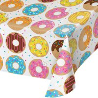 Contient : 1 x Nappe Donuts Party