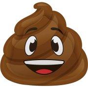 8 Assiettes Emoji Caca