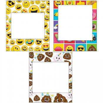 3 Cadres Photo Emoji Crazy (35 cm)