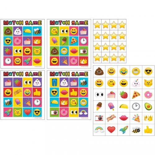 Jeu de Loto Emoji Crazy