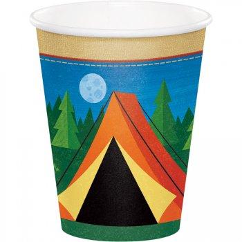 8 Gobelets Feu de Camp
