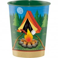 Grand Gobelet Feu de Camp (47 cl) - Plastique