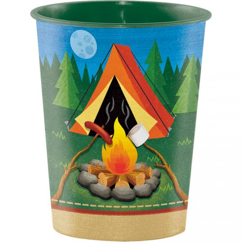 Grand Gobelet Feu de Camp (47 cl) - Plastique