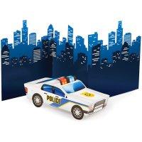 Contient : 1 x Centre de table Police Patrouille