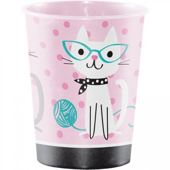 Grand Gobelet Chat Chic (47 cl) - Plastique