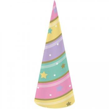 8 Cornes Licorne Rainbow Pastel