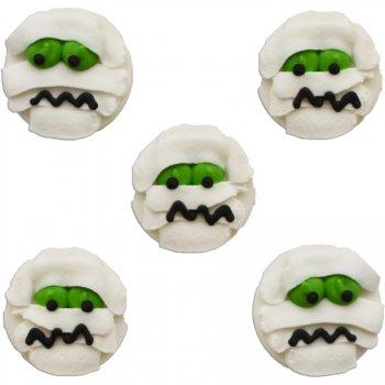 5 Momies à plat (3 cm) - Sucre