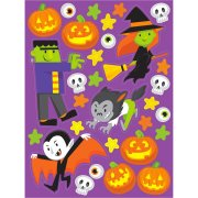 Stickers Halloween Monsters