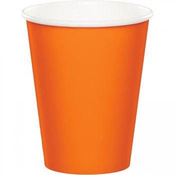 24 Gobelets Orange