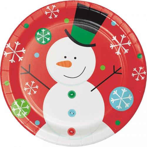 8 Assiettes Noël Fun