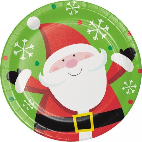 8 Petites Assiettes Noël Fun