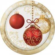 8 Assiettes Noël Elégance