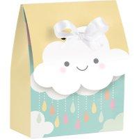 Contient : 1 x 12 Boites Cadeaux Nuages Baby (11 cm)