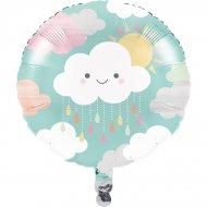 Ballon Gonflé à l'Hélium Nuages Baby