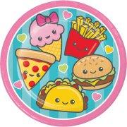 8 Petites assiettes Kawaïï Food