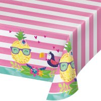 Contient : 1 x Nappe Ananas Party