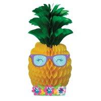 Contient : 1 x Centre de table Ananas Party 3D (50 cm)