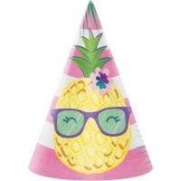 Contient : 1 x 8 Chapeaux Ananas Party