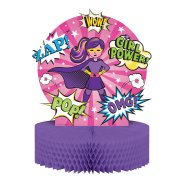 Centre de table Super Birthday Girl (30 cm)