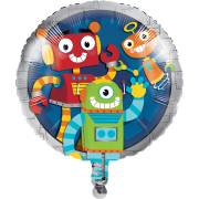 Ballon Gonflé à l'Hélium Robot Party