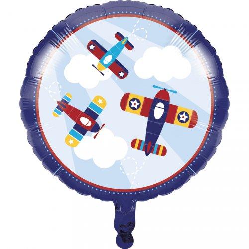 Ballon à plat Avion Compagnie