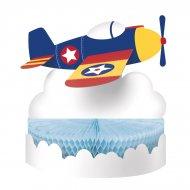 Centre de table Avion Compagnie 3D