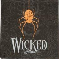 16 Serviettes Wicked Spider