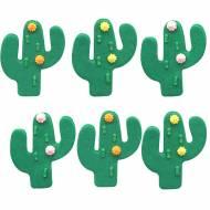 6 Décors Cactus - Sucre