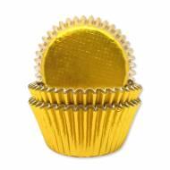 45 Caissettes à Cupcakes - Gold