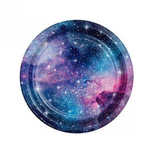 8 Petites Assiettes Galaxie