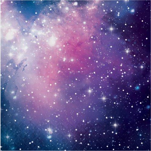 16 Serviettes Galaxie