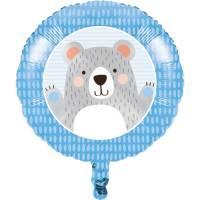 Contient : 1 x Ballon Gonflé à l'Hélium Baby Ours