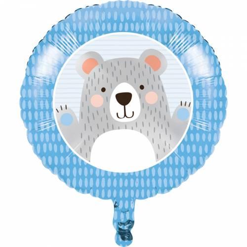 Ballon Gonflé à l Hélium Baby Ours