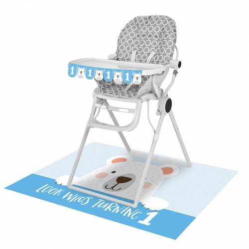 Kit Déco Chaise Haute Baby Ours