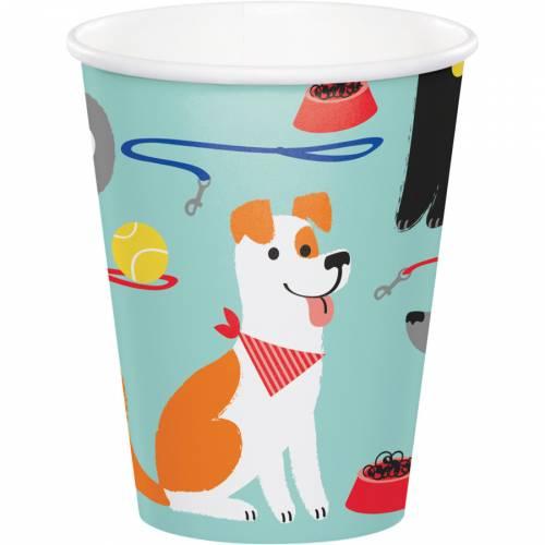 8 Gobelets Dog Party