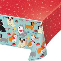 Contient : 1 x Nappe Dog Party