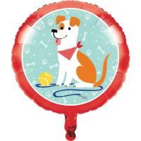 Contient : 1 x Ballon Gonflé à l'Hélium Dog Party