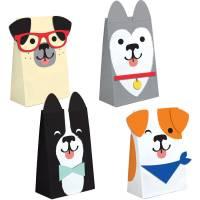 Contient : 1 x 8 Sacs Cadeaux Dog Party