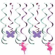 8 Guirlandes Spirales Fée Florale