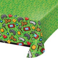 Contient : 1 x Nappe Game Party