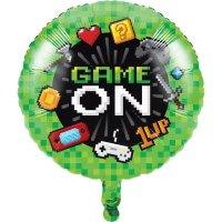 Contient : 1 x Ballon Gonflé à l'Hélium Game Party