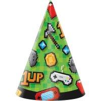 Contient : 1 x 8 Chapeaux Game Party