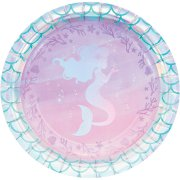 8 Assiettes Sirène iridescente