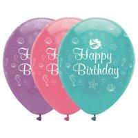 Contient : 1 x 6 Ballons Sirène iridescente