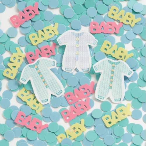 Confettis Baby Shower Rainbow