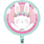 Ballon Gonflé à l'Hélium Lapin Joyeux