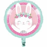 Ballon Gonflé Lapin Joyeux - Hélium