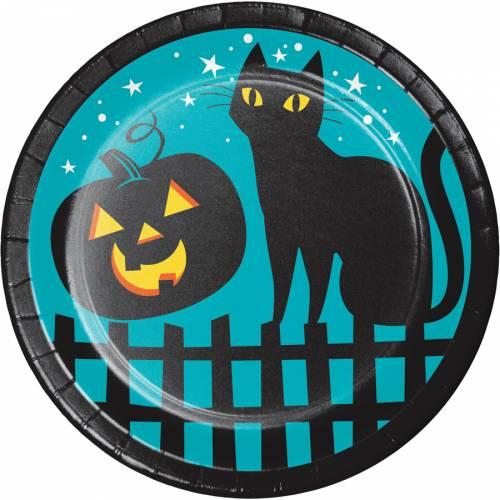 8 Petites Assiettes - Halloween Colors