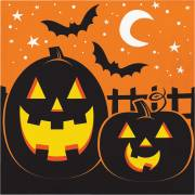 16 Serviettes - Halloween Colors
