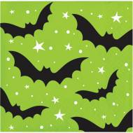 16 Petites Serviettes - Halloween Colors